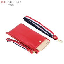 Wallet Women Genuine Leather Long Wallet Female 2019 New Zipper Women Wallets Phone Pocket Card Holder Purse Clutch Money Bag