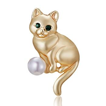 Tier Pins broschen Katze Emaille pin Abzeichen Hut Rucksack Zubehör Liebhaber Schmuck Geschenk für Frauen