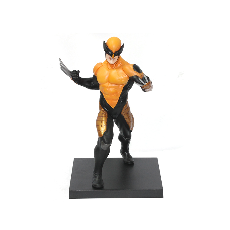 ФОТО Wolves World 2017 New Free Shipping Marvel Super Hero X-men Wolverine PVC Action Figure Collectible Toy 18CM with box 008