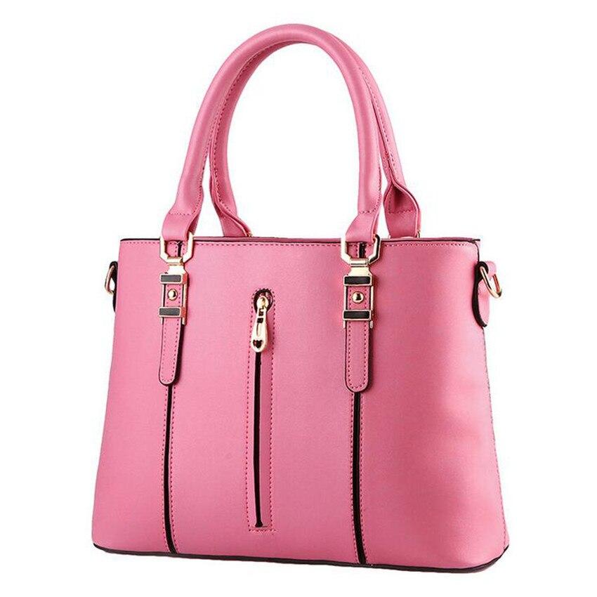 ФОТО 2017 New Elegant Women PU Leather Handbag Office Ladies Summer Messenger Bag Femme De Marque Bags Tote Femme Bolsas Femininas