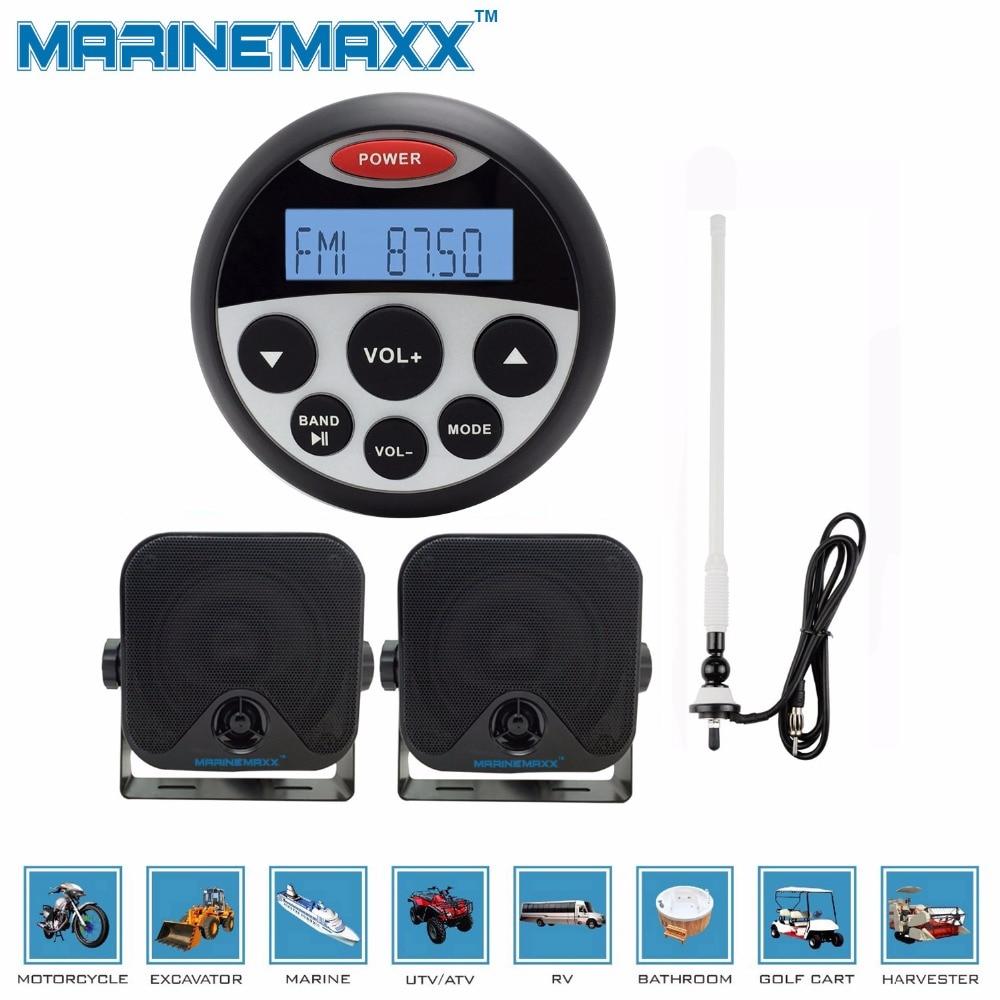 Waterproof Marine MP3 Player Sound System Rad.