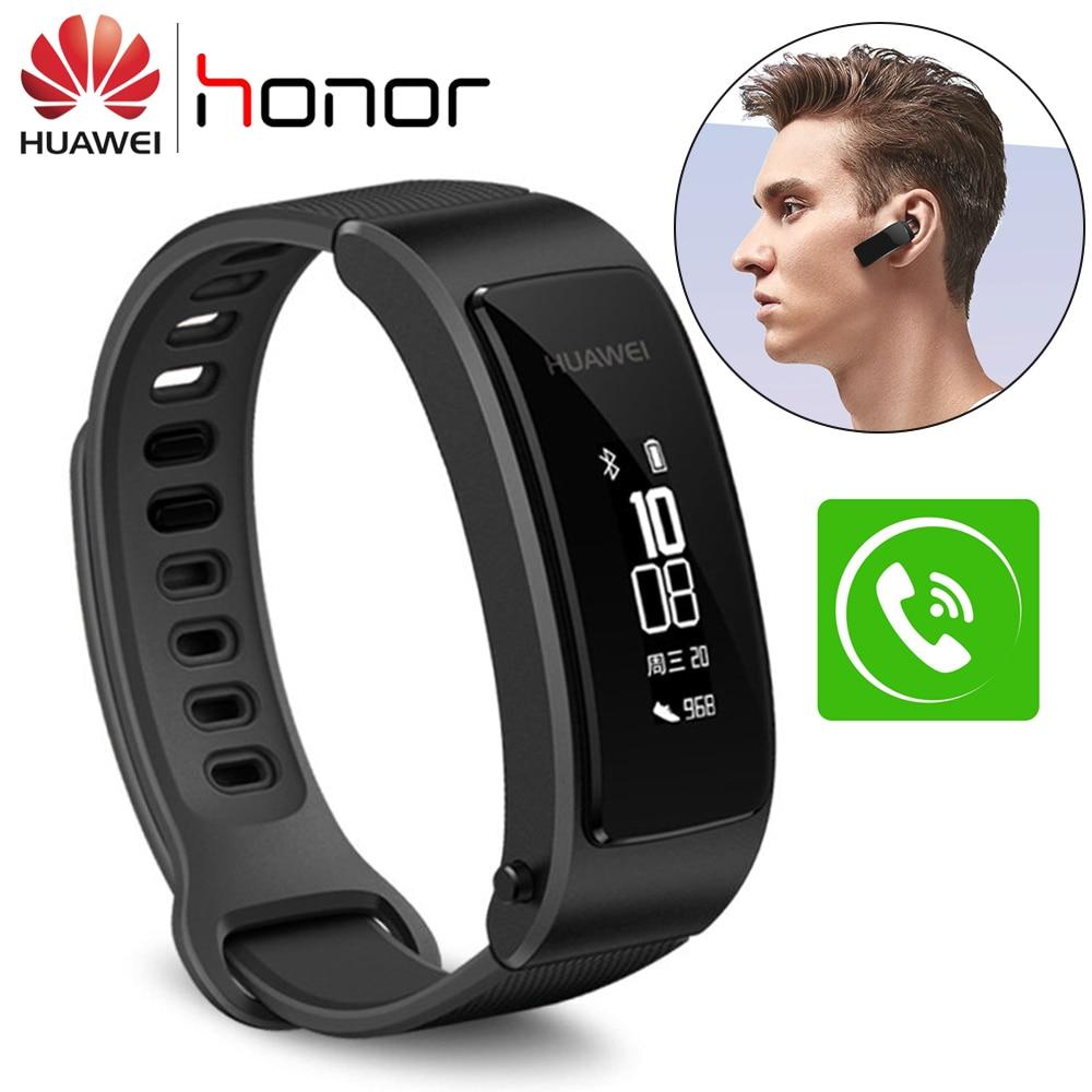 Original Huawei Talkband B3 Lite Smart Wristband Bluetooth Smart Bracelet Headset Answer End Call Fitness Tracker