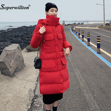 Winter Jacket Women Plus Size 2019 New Womens Cotton Clothin