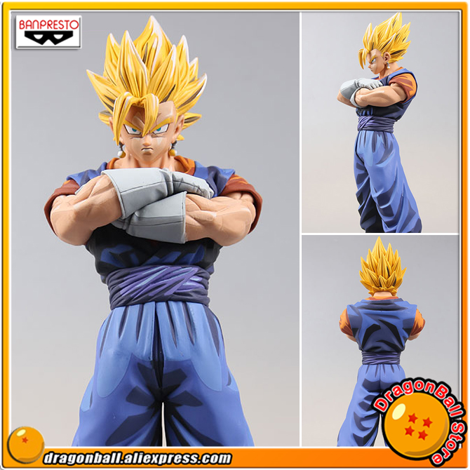 Dragon Ball Z Original Banpresto Master Stars Piece (MSP) Overseas Limited Edition Collection Figure - Super Saiyan Vegetto z ultra google edition