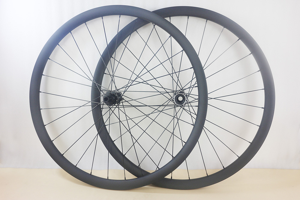 29er moutain bike Lefty 2 0 clincher hookless carbon wheels 34mm width 30mm height AM bicycle