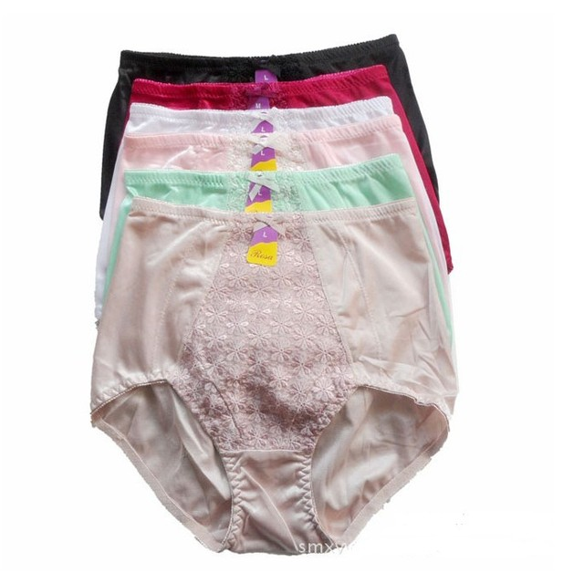 2014 Top Fasion Freeshipping Broadcloth Cotton Nylon Shipping!2014 New Arrive Women Lady Flower Lace Slim Panties Briefs(m/l/xl)
