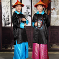 Qing Dynasty of Ancient China Togae necklace clothes costume The ancient Chinese official uniforms