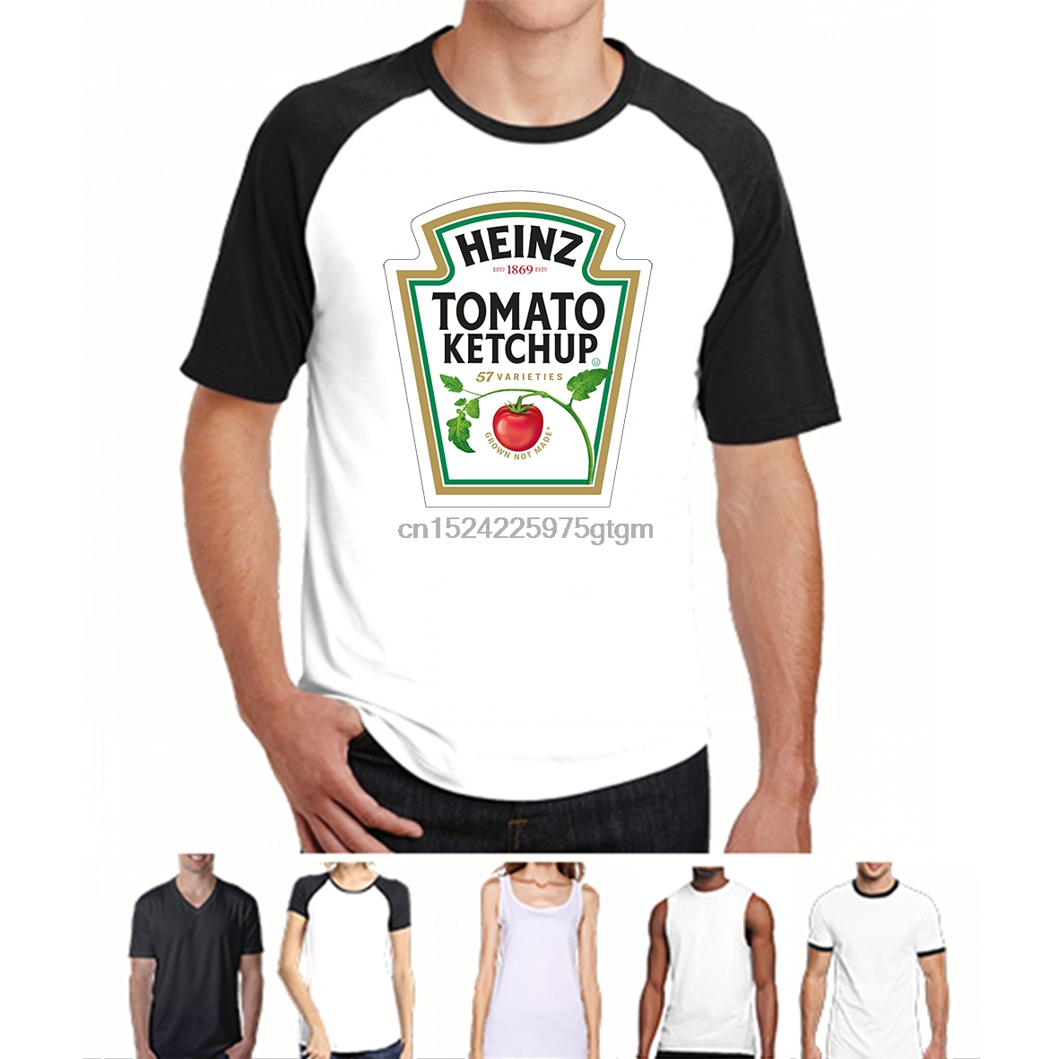 75f9df8d Detail Feedback Questions about HEINZ TOMATO KETCHUP T SHIRT Red Cotton  Bottle Logo Funny food men original Tee on Aliexpress.com | alibaba group