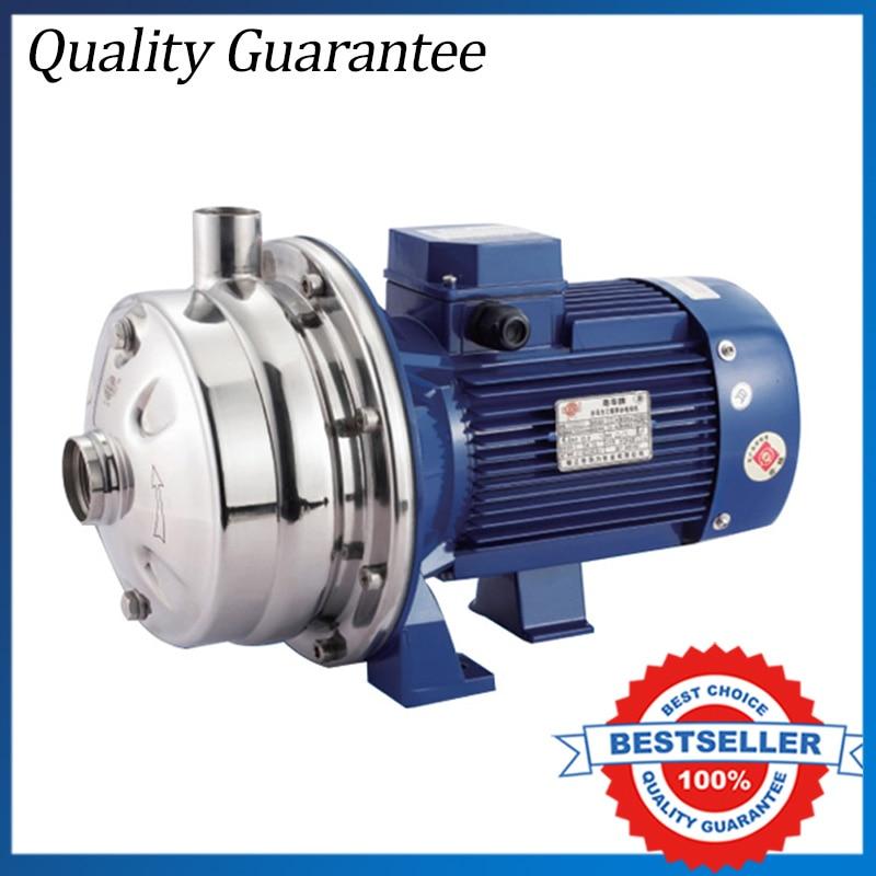 WB70/090 Electric Centrifugal Water Booster Pump 0.90KW Food Grade Sanitary Pump 380V 090 черный