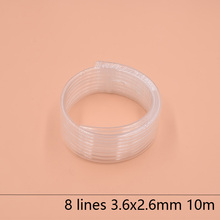 8 Lines eco solvent printer ink tube 3.6X2.6MM for Epson Allwin Mimaki Roland Mutoh hose 10M/lot Large supply system