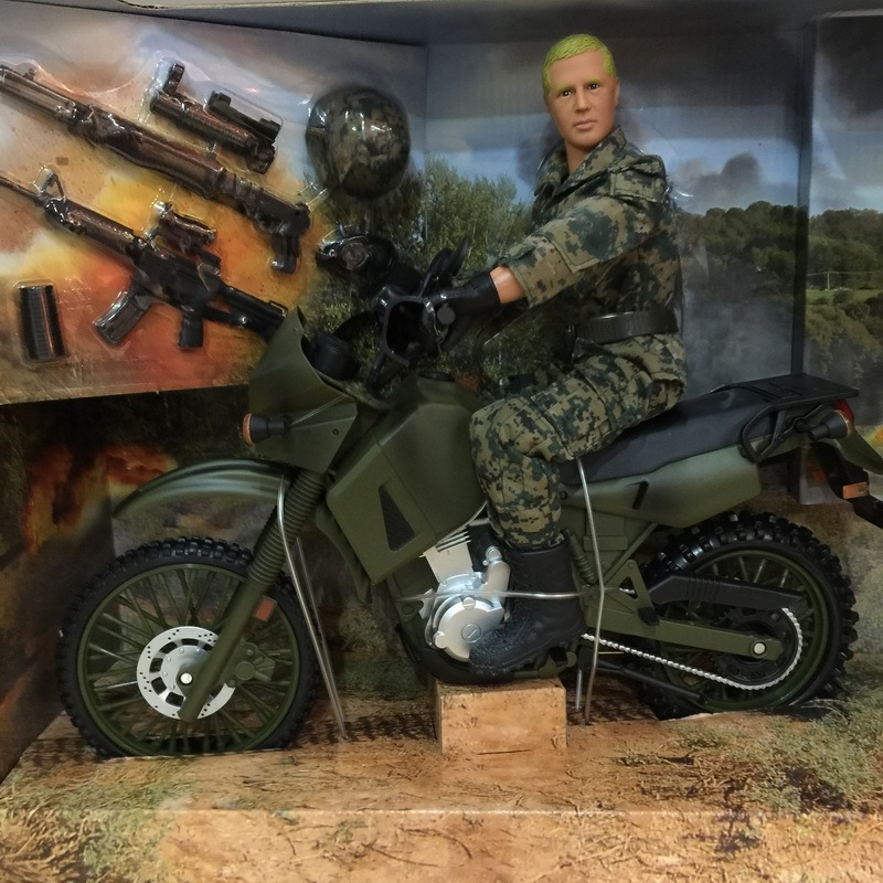 купить Motorised BuBing 1/6 Special Forces Soldiers of World War Ii Military Model Toy недорого