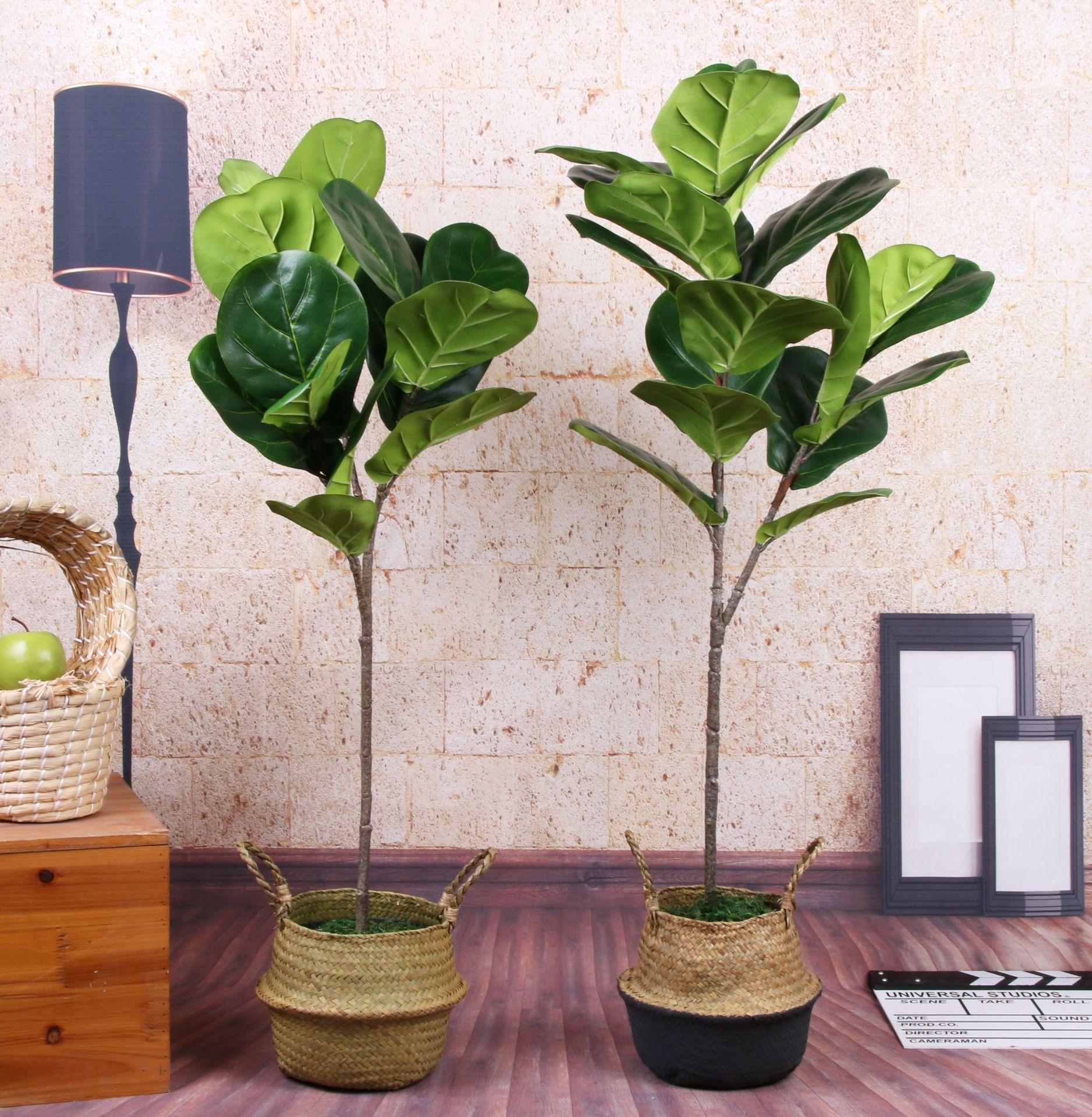 5 PCS Vero Tocco Artificiale Banyan Ramo di Un albero Artificiale albero di Banyan Pianta Falso albero di Banyan Bouquet Per La Casa Decorazione del Giardino-in Piante artificiali da Casa e giardino su  Gruppo 3