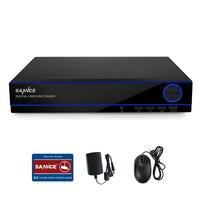 SANNCE 8CH 1080P HD Record HDMI DVR Digital Video Recorder CCTV Security System QR