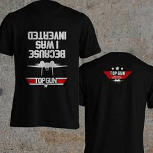 2019 Funny Double Side Top Gun Certified Consultant Inspired By Top Gun Movie Tom Cruise Black T-Shirt Unisex Tee tom cruise