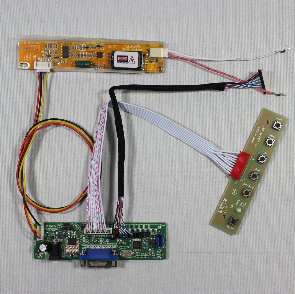 VGA LCD Controller Board RT2270C.3-A for 12.1inch LTM12C328T 1024x768 lcd panel screen model lcd for Raspberry Pi tengying l298n motor driver board for raspberry pi red