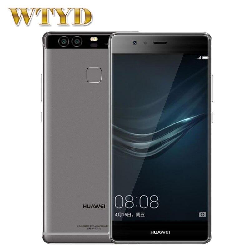For Huawei P9 /EVA-DL00 ROM 32GB+ RAM 3GB 4G 5.2'' EMUI 4.1 Kirin 955 Octa Core 4 x Cortex A72 2.5GHz + 4 x Cortex A53 1.8GHz