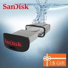 SanDisk FIT USB 3.0 3.1 Flash Drive 128GB 64GB 32GB 16GB 150MBS Bultra Pen Drive USB 3.0 U Disk Pendrive Flashdisk for Computer