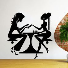 Vinyl Wall Decals Beauty Salon Nail Manicure Sticker Hair Decor Shop Window Mural AY332