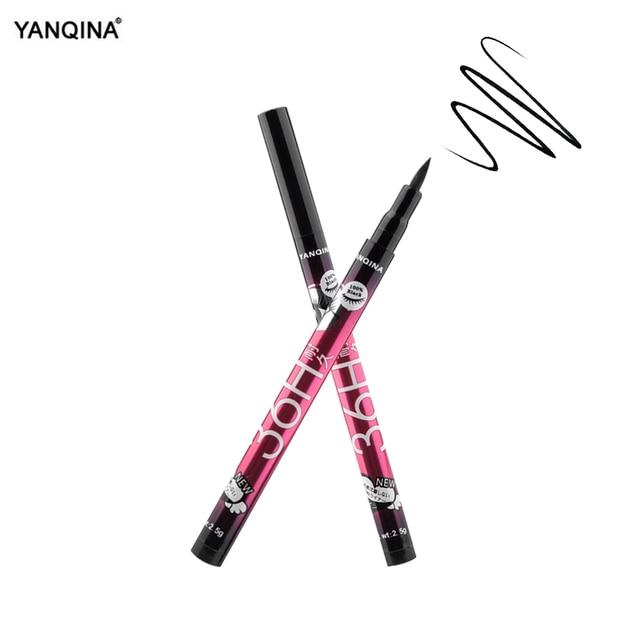 YANQINA 36H Black Waterproof Liquid Eyeliner Make Up Beauty Comestics Long-lasting Eye Liner Pencil Makeup Tools for eyeshadow 5