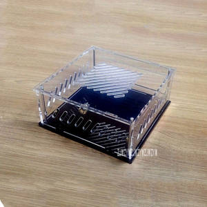 DIY Transparent Acrylic Computer Case for mini ITX Version