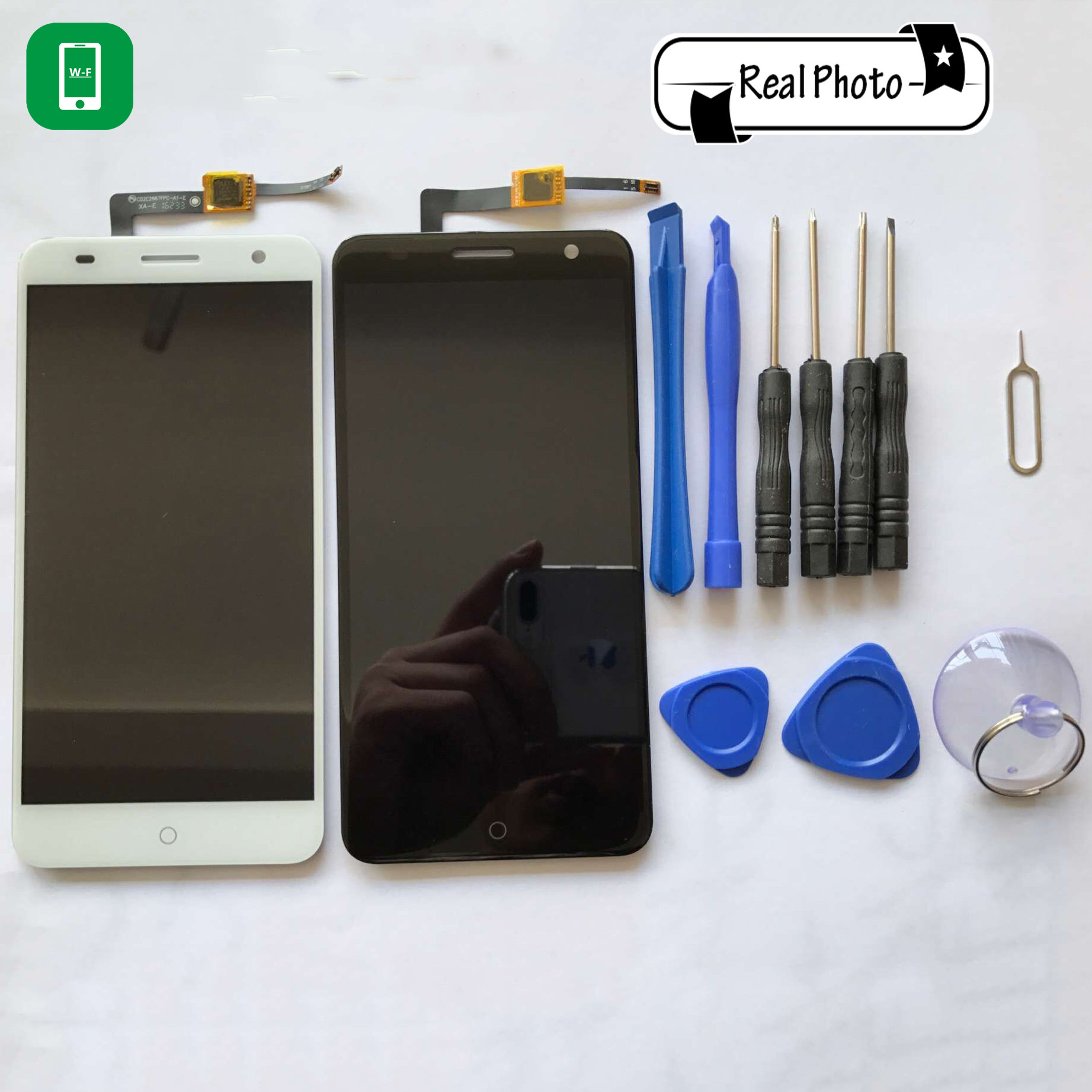 ФОТО for ZTE Blade V7 LCD Display+Touch Screen with Tools Glass Panel Accessories Phone Replacement For ZTE Blade V7 5.2 inch
