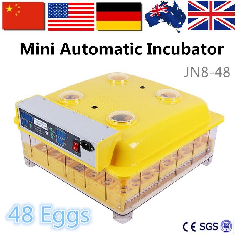 China 48 Chicken Egg Hatchery Machine Mini Egg Incubator ...
