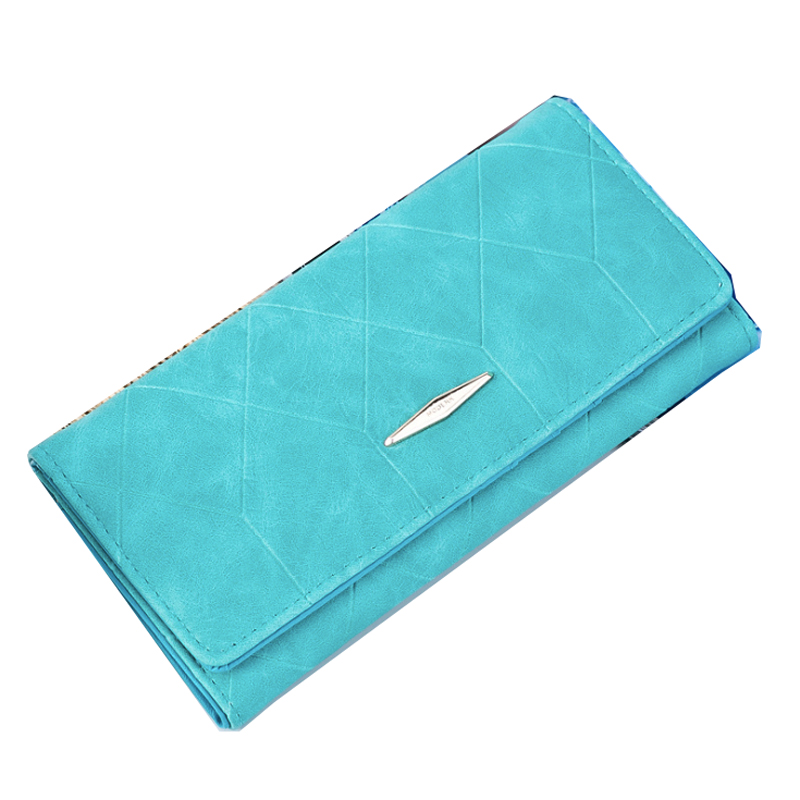 Women Wallets Brand Design High Quality PU Leather Wallet Female Hasp Fashion Woman's Coin Purse Promotion Card Holder promotion women