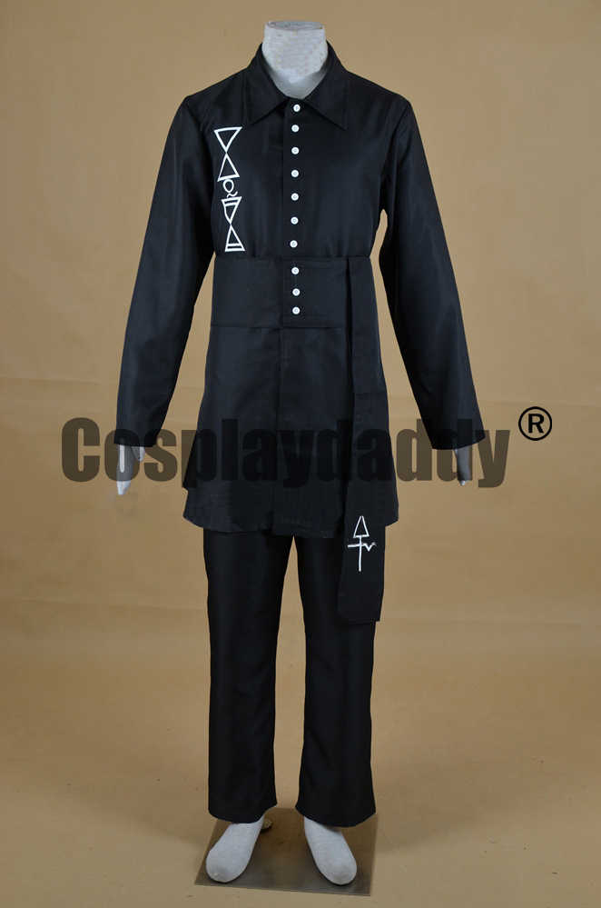 Ghost B.C. Swedish Heavy Metal Band A Nameless Ghoul Meliora Uniform Outfit Cosplay Costume F006