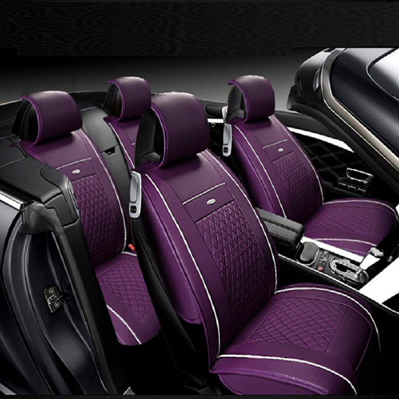 Авто сиденья полные комплекты Универсальный Fit 5 сиденье внедорожник седанов спереди/на заднем сиденье коврики автомобильные интерьер имит