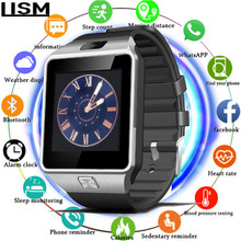 2019 New Smartwatch men Intelligent Digital Sport Gold Smart Watch Pedometer For Phone Android Wrist Men Womens