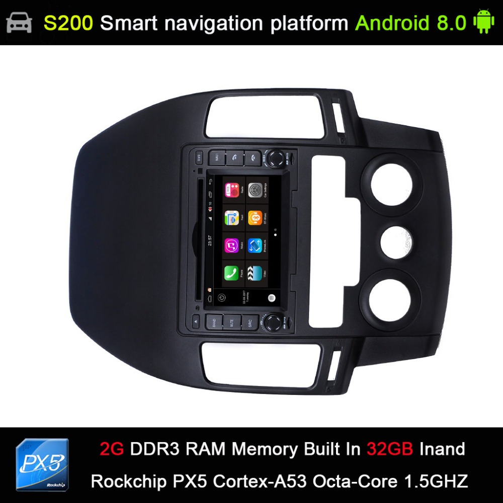 auto Android 8.0 system PX5 Octa 8-Core CPU 2G Ram 32GB Rom Car DVD Radio GPS Navigation for Hyundai I30 manual AC 2007-2011 stefan przyborski technology platforms for 3d cell culture a user s guide
