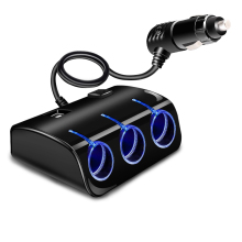 Автомобильный адаптер прикуривателя для грузовика, USB адаптер питания, зарядное устройство для IPhone, IPad, телефона, DVR, GPS, с подсветкой