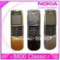 Оригинал Nokia 8800 классический мобильный телефон 2 г GSM Unlcocked 8800 русский арабско-английский-китайский клавиатура и золото