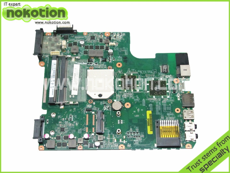 NOKOTION Warranty 60 days A000073410 Laptop Motherboard For Toshiba Satellite L645D Socket s1 ddr3 31TE3MB0040 DA0TE3MB6C0 nokotion v000185020 for toshiba satellite l505 laptop motherboard gm45 ddr2 6050a2250301 mb a03