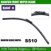 RAINFUN S510 dedicated car wiper blade for Toyota Aygo(14-), 26