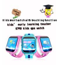 """2016 NEW Kids Segura Relojes de seguimiento GPS pantalla táctil de 1.54 """"Reloj inteligente Q750 Localizador Del Buscador Del Perseguidor SOS de Llamada Perdida Anti GSM"""