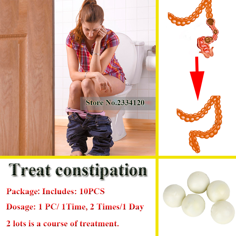100% Organic Chinese Herbs For Chronic Constipation Relief