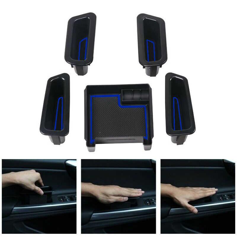 Авто черная ручка двери подлокотник коробка для хранения Пластик для XC60 S60 V60 2010-2017