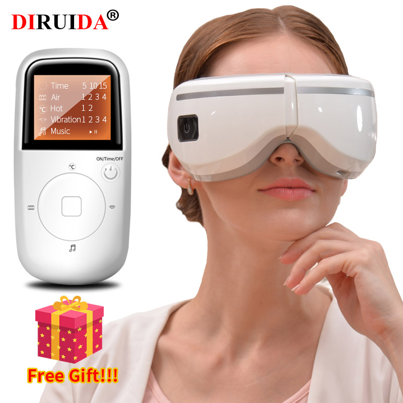 Original NEW Smart Wireless Eye Massager Eye Health Care Machine Visual Protection Device Music & Vibration Relaxation Nursing