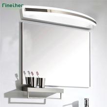 finether 8w white bathroom mirror light smd2835 style 85265v modern makeup mirror lights lighting