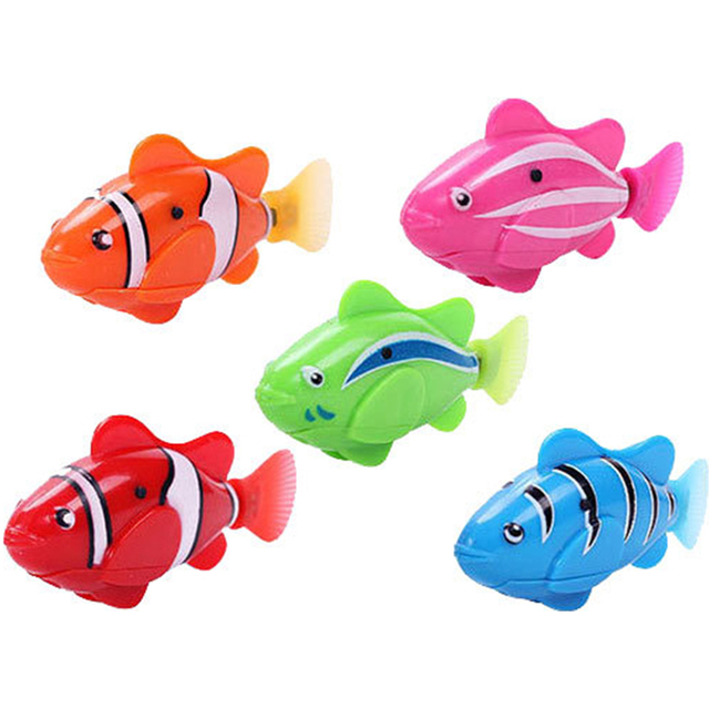Colorful Robotic Pet Fish  5