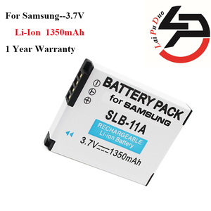 High Quality 1350mAh New Replacement Battery For Samsung SLB 11A SLB-11A SLB11A CL65 CL80 HZ25W ST1000 ST5000 WB100 HZ35W