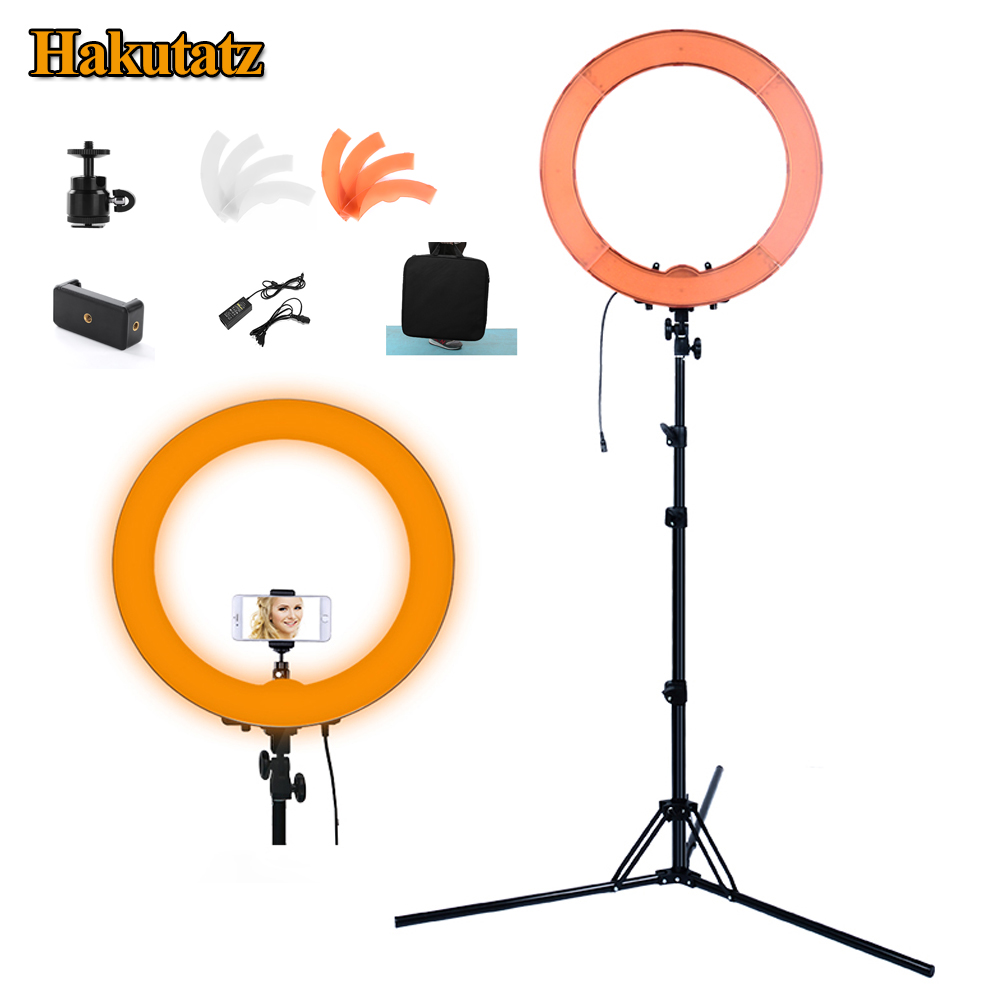 55W Digital Photographic Studio Ring Mild 5500Okay With 240Pcs Led Digital camera Photograph Dimmable Led Lighting With Tripod