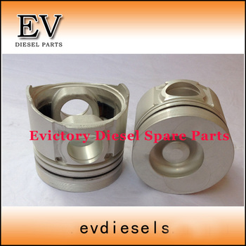 For Doosan DH150 DB58T DB58 Piston cylinder liner + piston ring + gasket kit