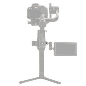 Image 5 - מצלמה צג הרכבה צלחת וידאו הארכת מתאם עבור DJI ללא מעצורים S Gimbal Extender מייצב עם 1/4 בורג עבור קסם זרוע מיקרופון