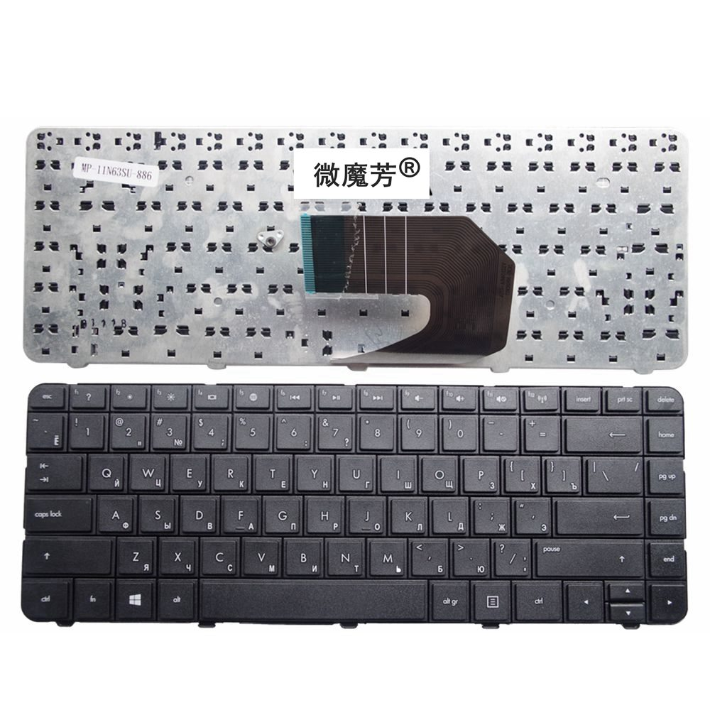 Russian New Laptop Keyboard For HP Pavilion 643263-251 AER15700010, R15 MP-10N63SU-920 9Z.N6WSF.10R 633183251 6432 RU