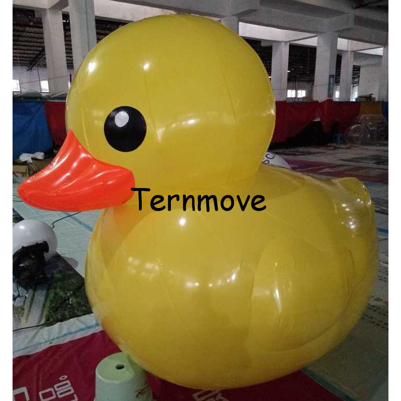 Christmas inflatable giant advertising cartoon Popular big inflatable ducks float on water Air Duck, Custom Inflatable Replicas inflatable cartoon customized advertising giant christmas inflatable santa claus for christmas outdoor decoration