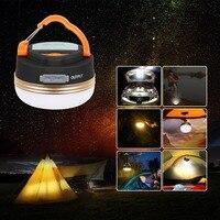 T-SUN мини походные фонари 3 Вт светодиодный кемпинговый фонарь палатки лампа Открытый Туризм ночной подвесной светильник USB Перезаряжаемый