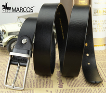 Designer Belt GG Men's Casual Real Leather Belt Male Youth Fashion Pin Buckle Belt First Layer(China (Mainland))