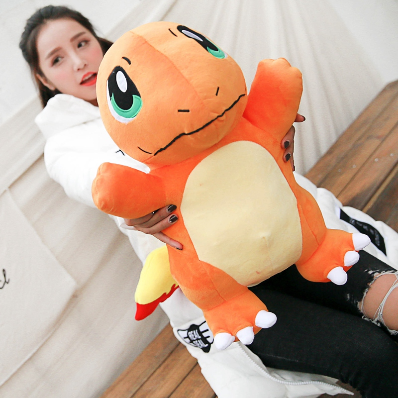 Super Big Size Squirtle/Charmander/Bulbasaur Plush Toys Stuffed Dolls Toys Brand for Children
